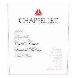 Chappellet 'Cyril's Cuvee' Limited Release 2006 image