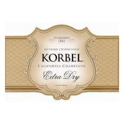 Korbel 'Extra Dry 375ml' Extra Dry Champagne NV image