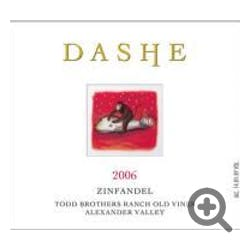 Dashe 'Todd Brothers Ranch' Zinfandel 2008