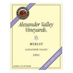 Alexander Valley Vineyards Estate Merlot 2007 image