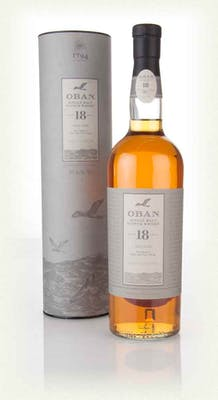 Oban Single Malt Scotch 18yr