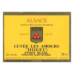 Hugel 'Cuvee Les Amours' Pinot Blanc 2012 image