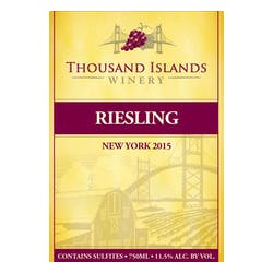 Thousand Islands Winery Riesling 2016 image