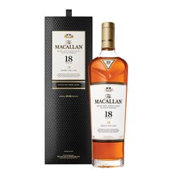 Macallan 'Sherry Oak' 18yr Single Malt Scotch 750ml image