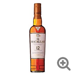 Macallan 'Sherry Oak' 12yr Single Malt Scotch 375ml