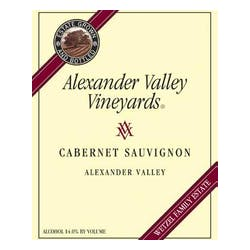 Alexander Valley Vineyards Wetzel Family Cab 2004 1.5L image