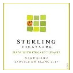 Sterling Vineyards 'Organic' Sauvignon Blanc 2009 image