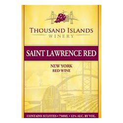 Thousand Islands Winery Saint Lawrence Red NV image