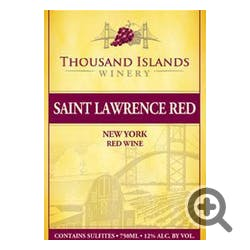 Thousand Islands Winery Saint Lawrence Red NV