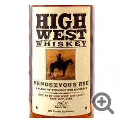 High West 'Rendezvous' Rye 92prf