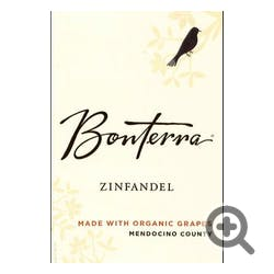 Bonterra Organically Grown Zinfandel 2012