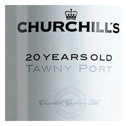 Churchill's Tawny Port 20Yr Old 500ml image