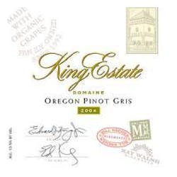 King Estate Pinot Gris 2011 image