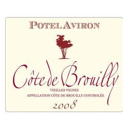 Potel Aviron Cote de Brouilly 2008 image