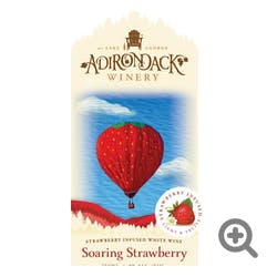 Adirondack Winery 'Soaring Strawberry' Riesling NV