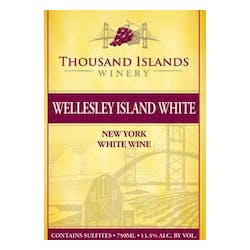 Thousand Islands Winery Wellesley Island White NV image
