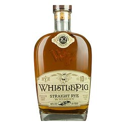 WhistlePig 100prf 750ml Straight Rye image