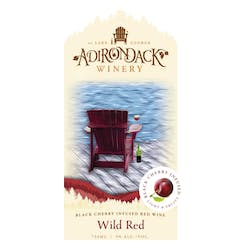 Adirondack Winery 'Wild Red' Red NV image