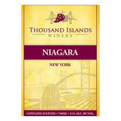 Thousand Islands Winery 'Niagara' Sweet White image