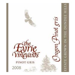 The Eyrie Vineyards 'Estate' Pinot Gris 2008 image