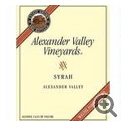 Alexander Valley 'Wetzel' Estate Syrah 2008