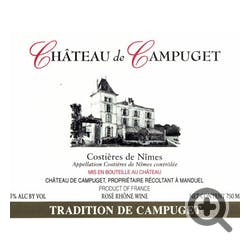Chateau Le Campuget Tradition Rose 2017