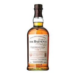 Balvenie 14yr 'Caribbean Cask' Single Malt Scotch 750ml image