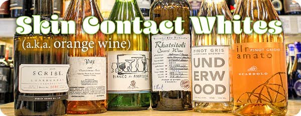 Skin Contact Wine